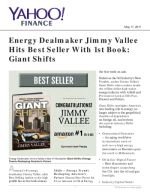 Energy Dealmaker Jimmy Vallee Hits Best Seller With 1st Book: Giant Shifts