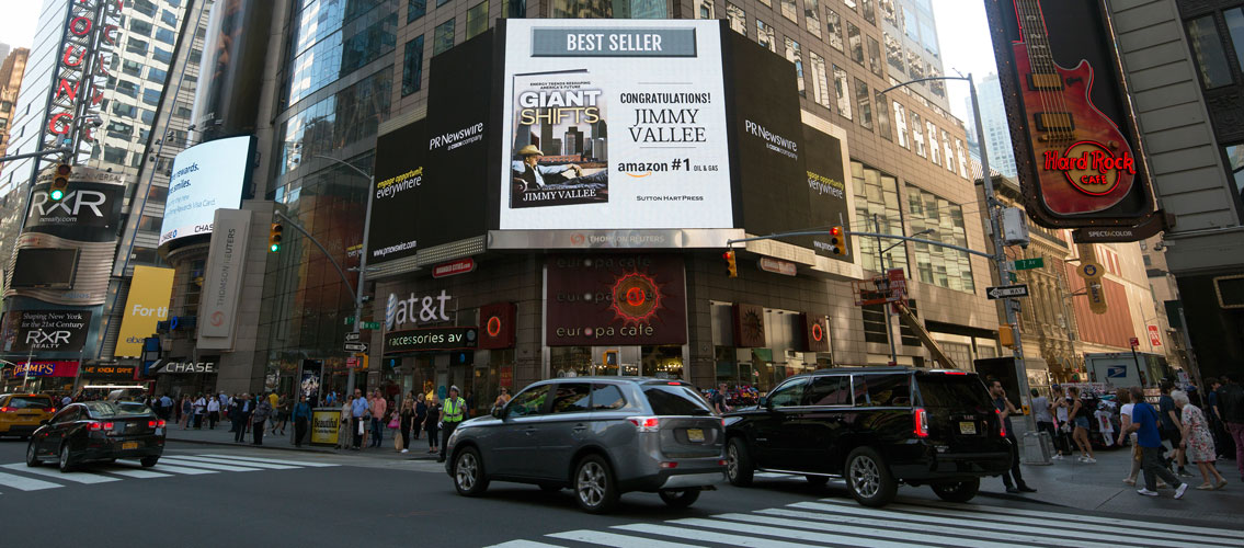 Jimmy Vallee Times Square NYC Amazon Best Seller